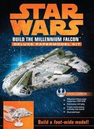 STAR WARS Build the Millennium Falcon DeLuxe Papermodel Kit