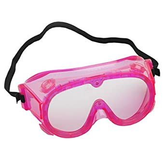 5 elementary splash goggles fluorescent pink science lab goggles