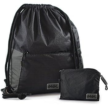 Amazon.com | Foldable Gymsack Drawstring Bag - Water