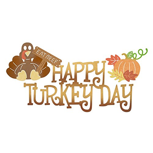 - Cheery Lynn Designs B826 Happy Turkey Day 7 Piece Die Set