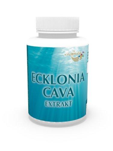 Vita World Ecklonia Cava Extrakt 50mg + Spirulina 120 Vegi Kapseln Apotheken Herstellung