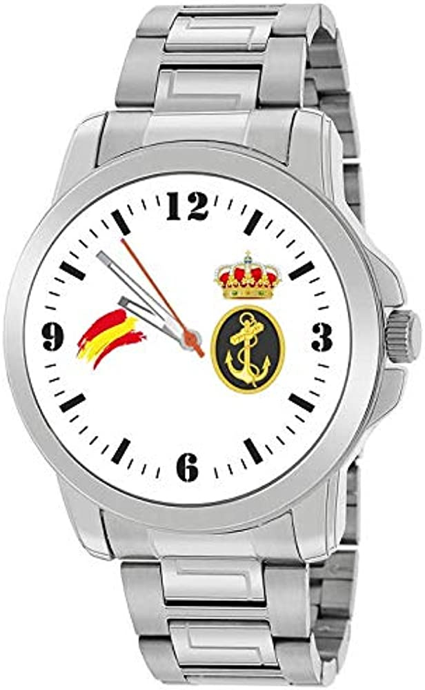 Reloj Armada Española Acero: Amazon.es: Relojes