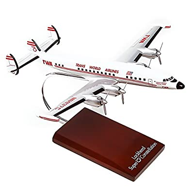Mastercraft Collection Lockheed L-1049G TWA Super Constellation Airliner Airplane Plane Model Scale:1/100