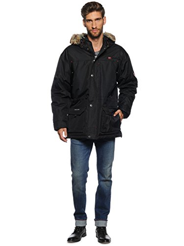 GEOGRAPHICAL NORWAY Herren Jacke Mantel Modell: Atlas, schwarz
