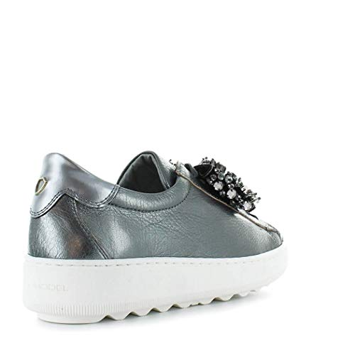 Grigio Pelle Donna Vbldmf01 Sneakers Philippe Model 8qHwO