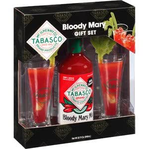 tabasco bloody mary mix gift set tabasco bloody mary mix 32oz and 2 tabasco. Black Bedroom Furniture Sets. Home Design Ideas