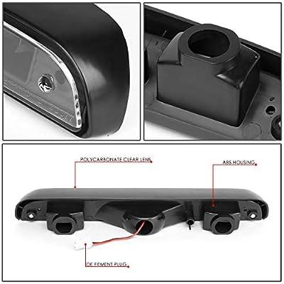 DNA Motoring 3BL-F15092-LED-BK 3D LED Bar 3rd Third Brake Lamp/Light: Automotive