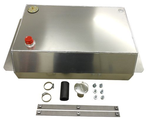 REVS AFT6372BK - 1963-72 Chevy GMC Truck Aluminum Fuel Gas Tank Combo Kit (Gas Tank 1972 Chevy Truck compare prices)