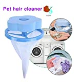 Howardee Floating Pet Fur Catcher Reusable Hair Remover Tool for Washing Machine
