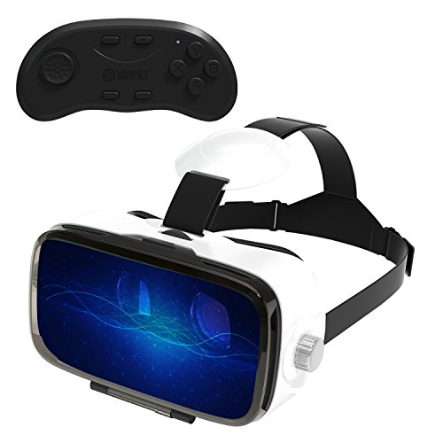 Buy Bargain Virtual Reality Headset for iPhone and Android 2017 Just Released 3D VR Goggles with Imm...