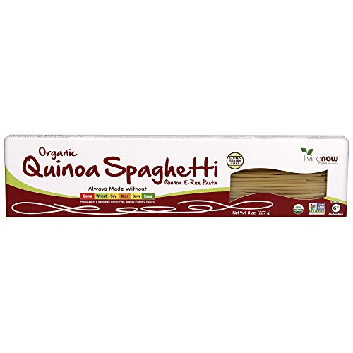 NOW Foods Quinoa Spaghetti Pasta, 8-Ounce