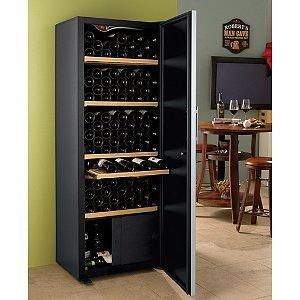 eurocave chamber wine cellar solid door