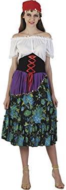 DISONIL Disfraz Zingara Mujer Talla XL: Amazon.es: Juguetes y juegos