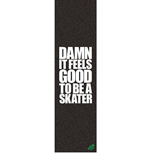 Blind Damn Goodグリップ5 - Packスケートボードグリップテープ、ブラック、1サイズ
