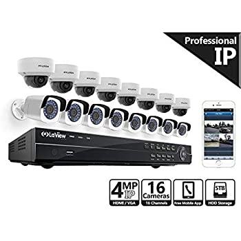 Amazon Com Laview 16 Channel Nvr Security Camera System