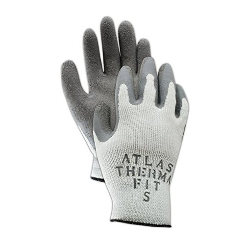 Showa Best 451-10 SHOWA Best Glove Atlas Thermal-Fit PF451 Knit Glove with Rubber Coating, Men