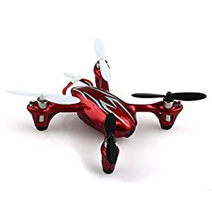 Hubsan X4 H107C 2.4G 4CH RC Quadcopter With HD 2 MP Camera RTF - RED/WHITE