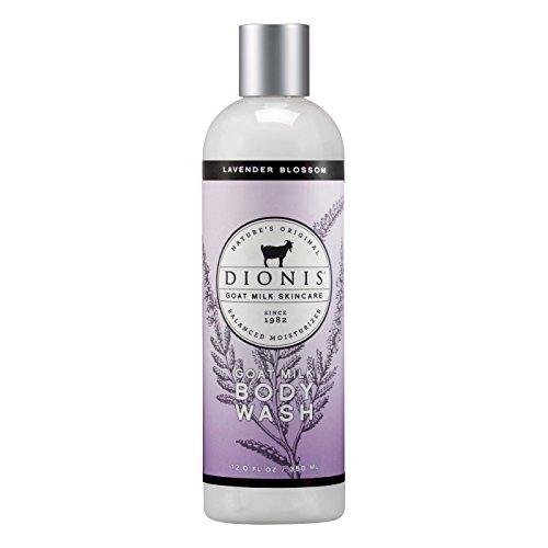 Dionis Goat Milk Skincare Body Wash (Lavender Blossom, 12 oz)