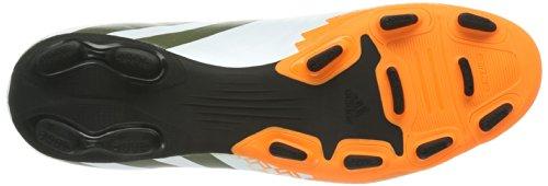 adidas Predito Lz Trx Fg - Botas de fútbol Hombre Running White Ftw / Earth Green 013 / Solar Zest