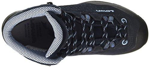 Lowa Women's Sassa GTX Mid W High Rise Hiking Boots Blue (Navy/Hellblau 6970) MS5CtKJ