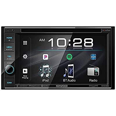 Kenwood DDX396 6.2 inch DVD Receiver with Bluetooth: Car Electronics