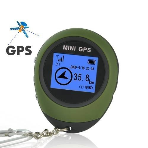5. PG03 Mini GPS Receiver Navigation Handheld Location Finder USB Rechargeable with Compass for Outdoor Sport Travel