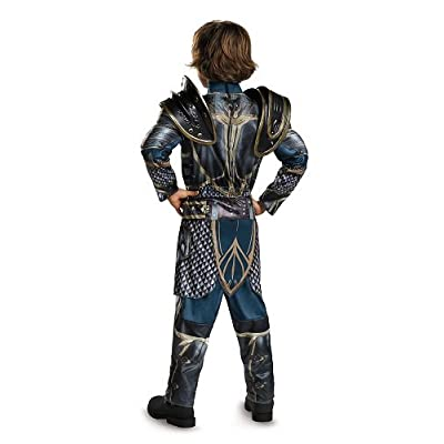 Lothar Classic Muscle Warcraft Legendary Costume, X-Large/14-16: Toys & Games