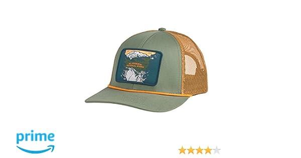 8f2dcd4f Amazon.com : Sendero Provisions Co. Mt. Rainier National Park Hat,  Laurel/Cedar Meshback, Adjustable : Sports & Outdoors