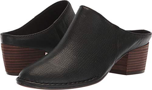 CLARKS Women's Spiced Isla Mule, Black Leather, 85 M - Mules Leather Lightweight