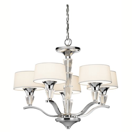 Kichler 42029CH Five Light Mini Chandelier - Traditional Chandelette