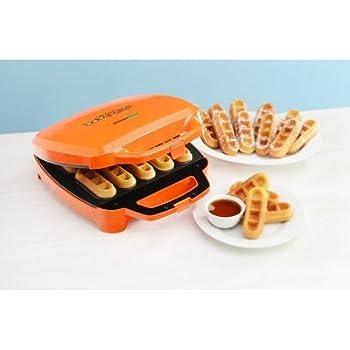 Amazon.com: Babycakes: Waffle Stick Maker - Orange