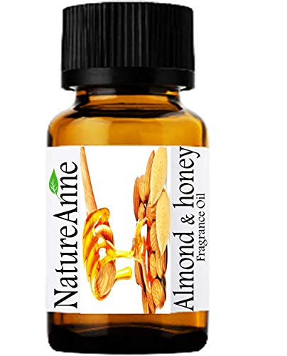 Almond & Honey Premium Grade Fragrance Oil - 10ml - Scented Oil - for Diffuser Oils, Making Soap, Candles, Lotion, Home Scents, Linen Spray, Lotion, Perfume, Beard ()