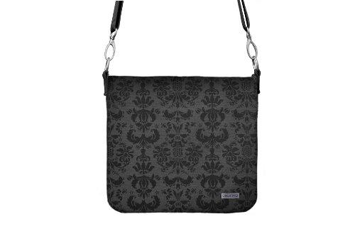 Undfind WS-0002 Smokey Damask Waist Shooter Bag (Grey) by UNDFIND