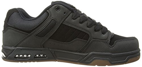 Shoes DVS Basses Sneakers Gunny Black homme DVF0000056 Nubuck OwPqdPg