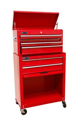 Homak RD07062400 Homeowner's Combo 24Inch Top Chest/Roller Cabinet ...