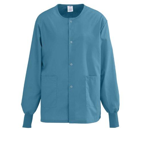 Medline Performax Snap Front Warm Up Scrub Jacket Medium