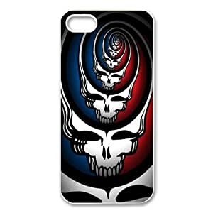 Customize Apple iphone 5,5S Case Music Band Grateful Dead JN5S-2083