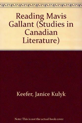 Studies in Contemporary Canadian Literature