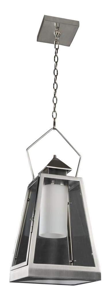 Revere Medium Hanging Lantern Steel