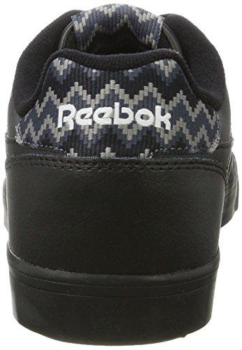 Reebok Bd3586, Zapatillas de Tenis para Hombre Negro (Negro (Black /     White)