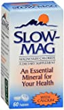 Slow Mag Magnesium Chloride and Calcium, 60 Tablets each (Value Pack of 3) For Sale