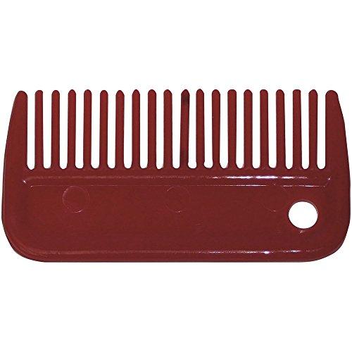 Bitz Mähnenkamm aus Plastik Rot xkcx8