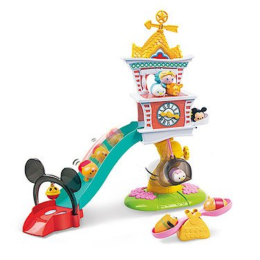 Disney Tsum Squishies Large Clock Tower Playset By Squishy
