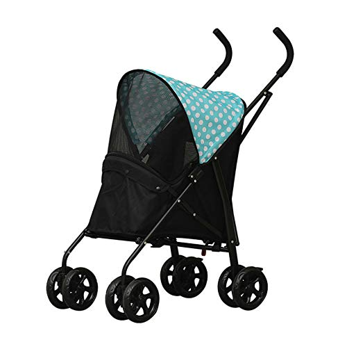 HU Pet Stroller Oxford Cloth Safety Comfortable Waterproof Comfortable Small And Medium Pets