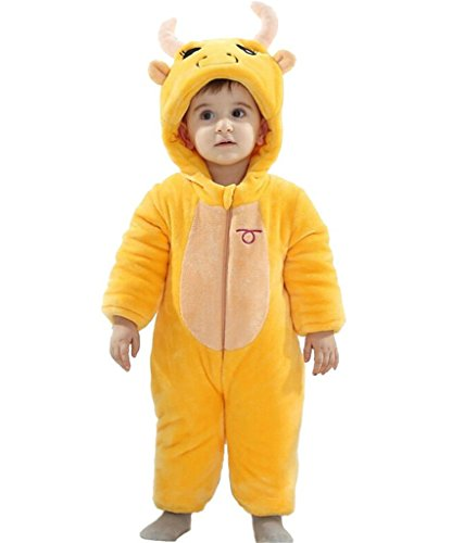 Staringirl Baby Unisex Spring Sleepsuit Child Fancy Dress Onesie Party Costumes Taurus (Adult Taurus Costumes)