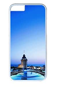 Turkey Resort PC Case Cover for iphone 6 plus 5.5 inch White