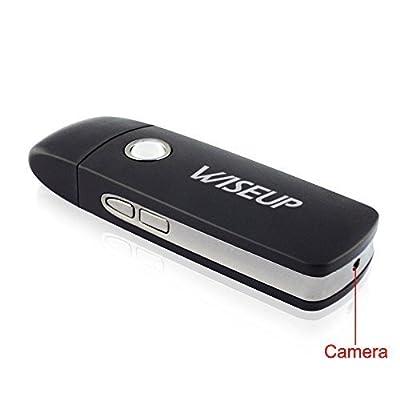 Wiseup™ Mini Portable Hidden Camera USB Flash Drive Motion Detective SD Card DVR Video Recorder