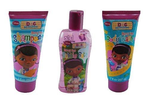 Doc McStuffins Bath Gift Set - Bubble Bath, Body Wash, Shampoo by United Pacific