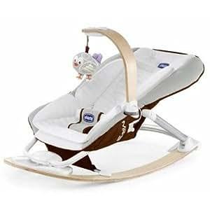 Chicco I Feel - Silla balancín para bebé, color marrón