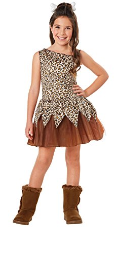 Kids Cave Girl Costumes (Cave Girl Child Costume S)